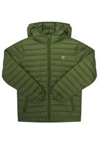 Guess Kurtka puchowa H93J00 WCAO0 Zielony Regular Fit. Kolor: zielony. Materiał: puch