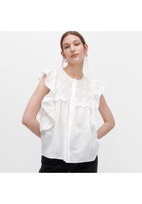 Bluzka Reserved w ażurowe wzory