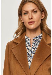 Brązowy płaszcz MAX&Co. casualowy, bez kaptura, na co dzień #7