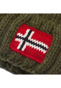 Zielona czapka zimowa Napapijri