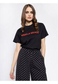Czarny t-shirt Manila Grace