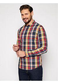 Koszula casual Tommy Jeans w kolorowe wzory