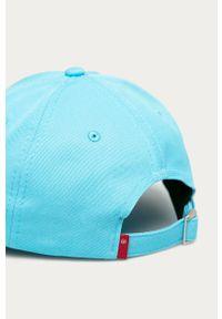 Niebieska czapka z daszkiem Levi's® z aplikacjami, biznesowa
