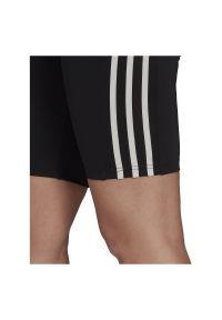 Adidas - Legginsy damskie treningowe adidas Move High Rise GL3971. Stan: podwyższony. Materiał: poliester, skóra, materiał, elastan. Długość: krótkie. Sport: kolarstwo, fitness, joga i pilates