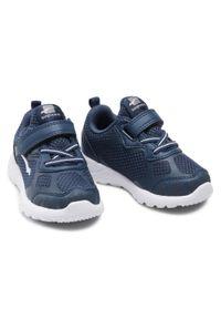 Bagheera - Sneakersy BAGHEERA - Moxie 86520-24 C2608 Navy/White. Okazja: na co dzień. Zapięcie: rzepy. Kolor: niebieski. Materiał: skóra, materiał. Szerokość cholewki: normalna. Styl: casual