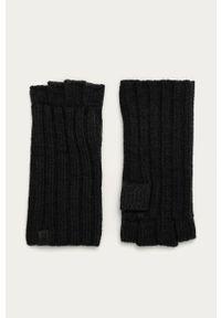 Czarne rękawiczki AllSaints