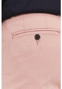 Selected - Szorty. Okazja: na co dzień. Kolor: różowy. Materiał: tkanina, bawełna. Styl: casual