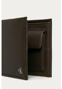 Brązowy portfel Calvin Klein Jeans
