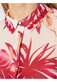 Guess Koszula Clouis W1RH09 W70Q0 Kolorowy Relaxed Fit. Wzór: kolorowy