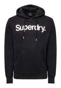 Czarna bluza Superdry