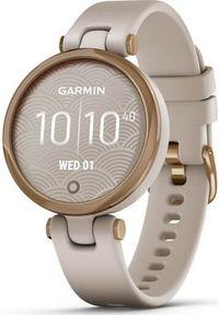 GARMIN - Zegarek sportowy Garmin Lily Sport Beżowy (010-02384-11). Kolor: beżowy. Styl: sportowy