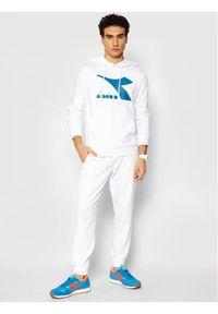 Diadora Bluza Big Logo 102.177089 Biały Regular Fit. Kolor: biały