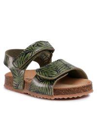 Zielone sandały Sergio Bardi Young na lato