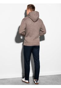 Brązowy sweter Ombre Clothing