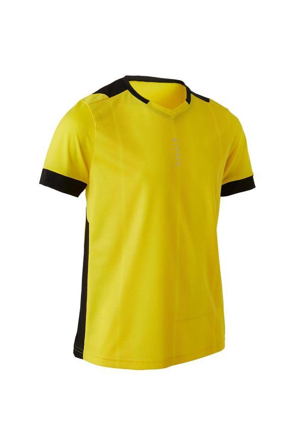Koszulka do piłki nożnej KIPSTA z krótkim rękawem, na lato, krótka