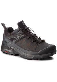 salomon - Salomon Trekkingi X Ultra 3 Ltr Gtx GORE-TEX 404784 30 V0 Czarny. Kolor: czarny. Technologia: Gore-Tex. Sport: turystyka piesza