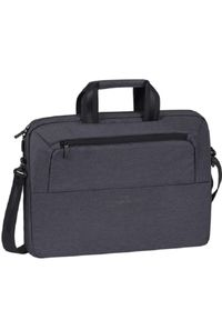 Czarna torba na laptopa RIVACASE elegancka #4