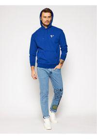 Levi's® Bluza PEANUTS® Graphic 38821-0019 Niebieski Loose Fit. Kolor: niebieski