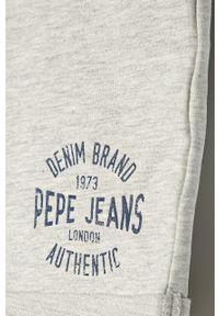 Szare spodenki Pepe Jeans na co dzień, sportowe