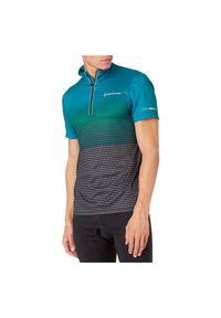 Koszulka rowerowa męska Nakamura Daniel 412614. Materiał: poliester, materiał. Długość rękawa: krótki rękaw. Długość: krótkie. Sport: fitness