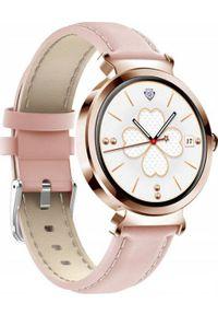 Smartwatch Bakeeley SD-1 Różowy. Rodzaj zegarka: smartwatch. Kolor: różowy