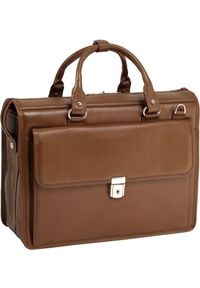 Brązowa torba na laptopa MCKLEIN