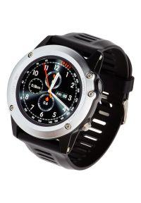 Srebrny zegarek GARETT smartwatch