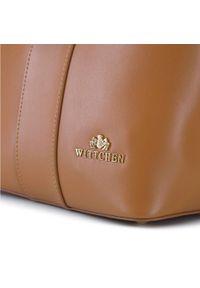 Wittchen - Damska listonoszka skórzana ze sprzączką. Wzór: haft, gładki. Sezon: lato. Dodatki: z haftem. Materiał: skórzane. Rozmiar: małe. Styl: casual. Rodzaj torebki: na ramię #2