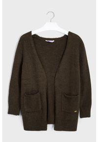 Brązowy sweter Mayoral gładki, na co dzień #4