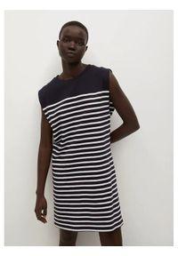 mango - Mango Sukienka codzienna Picasa 87978631 Czarny Regular Fit. Okazja: na co dzień. Kolor: czarny. Typ sukienki: proste. Styl: casual