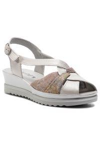 Szare sandały Comfortabel