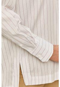 Biała koszula Max Mara Leisure z klasycznym kołnierzykiem, długa