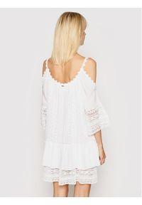 Guess Sukienka letnia Dalila W0GK1F WCUZ0 Biały Oversize. Kolor: biały. Sezon: lato. Typ sukienki: oversize