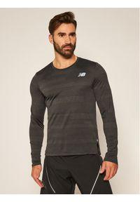 Czarna koszulka sportowa New Balance
