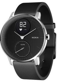 Czarny zegarek WITHINGS elegancki, smartwatch