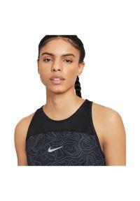 Koszulka damska do biegania Nike Miler Run Division DA1248. Materiał: materiał, poliester. Długość rękawa: bez rękawów. Technologia: Dri-Fit (Nike). Długość: krótkie. Sport: bieganie