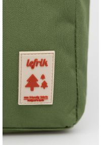 Lefrik - Plecak. Kolor: zielony. Materiał: poliester