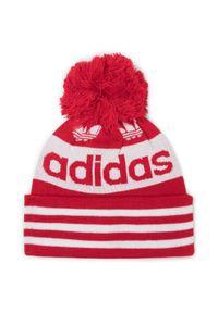 Czerwona czapka zimowa Adidas klasyczna