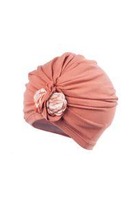 Pomarańczowa czapka Jamiks gładkie