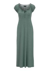 Sukienka Happy Holly w kropki, z krótkim rękawem, maxi