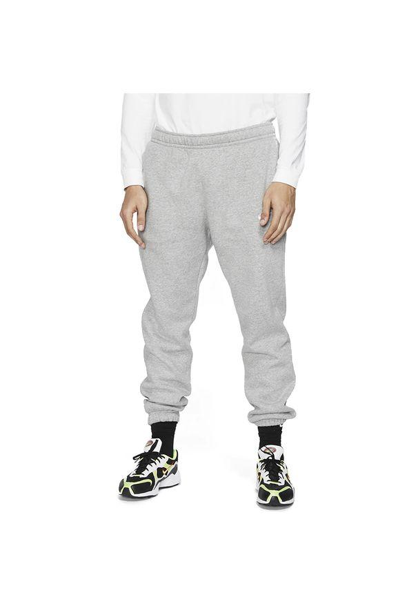 Szare spodnie Nike klasyczne