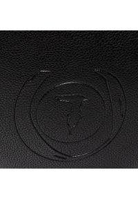 Czarna torebka klasyczna Trussardi Jeans klasyczna