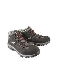 Czarne buty trekkingowe Vemont z cholewką, na sznurówki