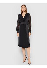 Marella Sukienka koktajlowa Fabbro 32260413 Czarny Regular Fit. Kolor: czarny. Styl: wizytowy