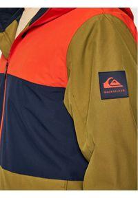 Quiksilver Kurtka snowboardowa Sycamore EQYTJ03286 Zielony Modern Fit. Kolor: zielony. Sport: snowboard #3