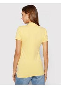 Polo Ralph Lauren Polo 211505654155 Żółty Slim Fit. Typ kołnierza: polo. Kolor: żółty