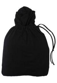 Dres rekreacyjny 3-częściowy z workiem bonprix czarny. Kolor: czarny. Materiał: dresówka. Styl: wakacyjny