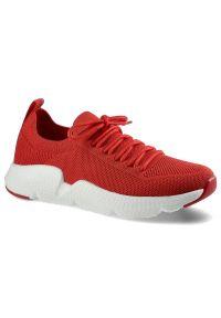 Big-Star - Sneakersy BIG STAR DD274580 Czerwony. Okazja: na spacer. Kolor: czerwony. Materiał: materiał. Szerokość cholewki: normalna. Styl: sportowy, elegancki