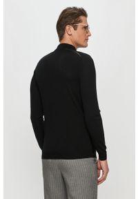 Czarny sweter Karl Lagerfeld casualowy, na co dzień