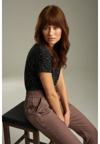 Greenpoint - Wiskozowa bluzka z nadrukiem. Materiał: wiskoza. Wzór: nadruk